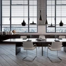 Table de réunion So Upper en finition Eucalyptus