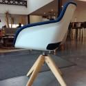 Fauteuil professionnel personnalisable Pleasant Sit, chez un client