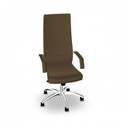 Fauteuil Direct Sit finition simili taupe