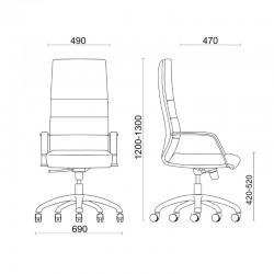 Dimensions du Fauteuil Direct Sit