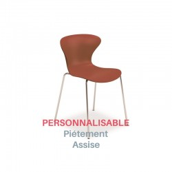 Chaise de réunion design Beak Sit, personnalisable