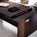 Bureau de direction So Big finition Eucalyptus