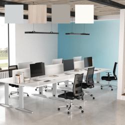 Ilot (bench) de bureaux So Efficient, pour open-space