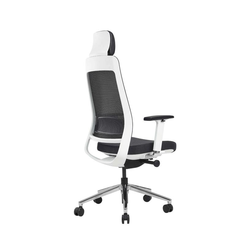 Fauteuil ergonomique Bloom Sit, coque blanche