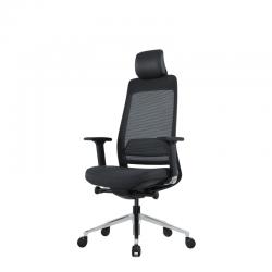 Fauteuil de bureau Bloom Sit, version noire